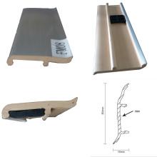 Alta qualidade melhor preço plásticas placas de rodapé para revestimento de bambu