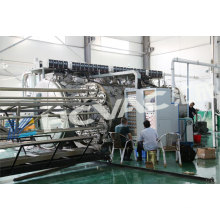Hcvac Big Horizental PVD Coating Machine for 3m 6m Stainless Steel Pipe
