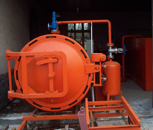 Wood Impregnation Tank