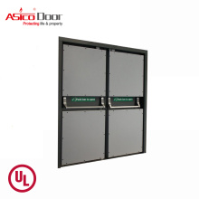 Flat Safety Design Stainless Steel Security Hotel Door With UL Listed