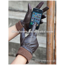 Touch Screen Leather gloves for Iphone