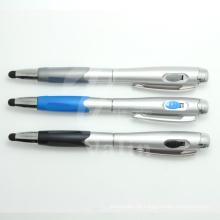 Novidade caneta de tela sensível ao toque de caneta de alta sensibilidade com luz