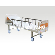 a-109 Movable Double-Function Manual Hospital Bed