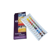 Gouache students Gouache paint 12 colores
