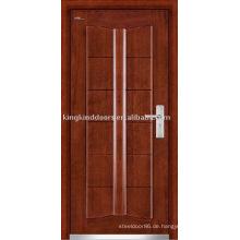 Stahl Holz Außentür (JKD-203) gepanzerte Tür starke Sicherheits-Tür