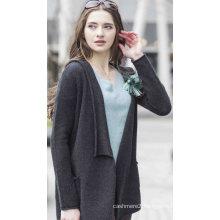 Women′s 100% Cashmere Sweater (1500002042)