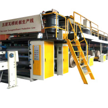 5 ply automatic corrugated cardboard machine production line