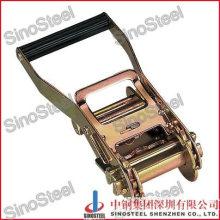 Plastic Handle Steel Tie Down Ratchet Buckle/Ratchet Belt Buckle