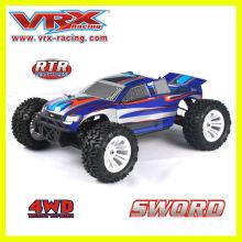 игрушка для Продажа, 1:10 rc автомобиль, электрическая тележка 4WD, от завода, высокое качество