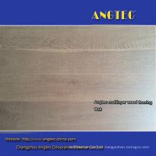 Smoked White Brush European Oak White Washed Engineered Wood Flooring