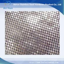 Tissu en maille de ficelle / rideau en mousse métallique