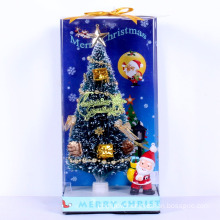 High quality fiber optic mini artificial christmas tree for car