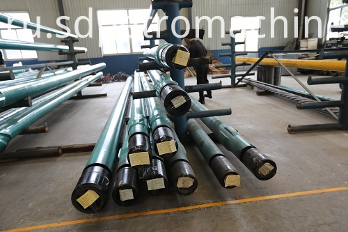 Downhole Motor For Well Workover Inside