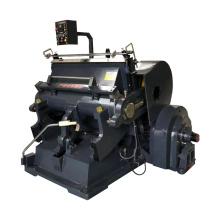 Carton box manual creasing paper and cutter die press machine