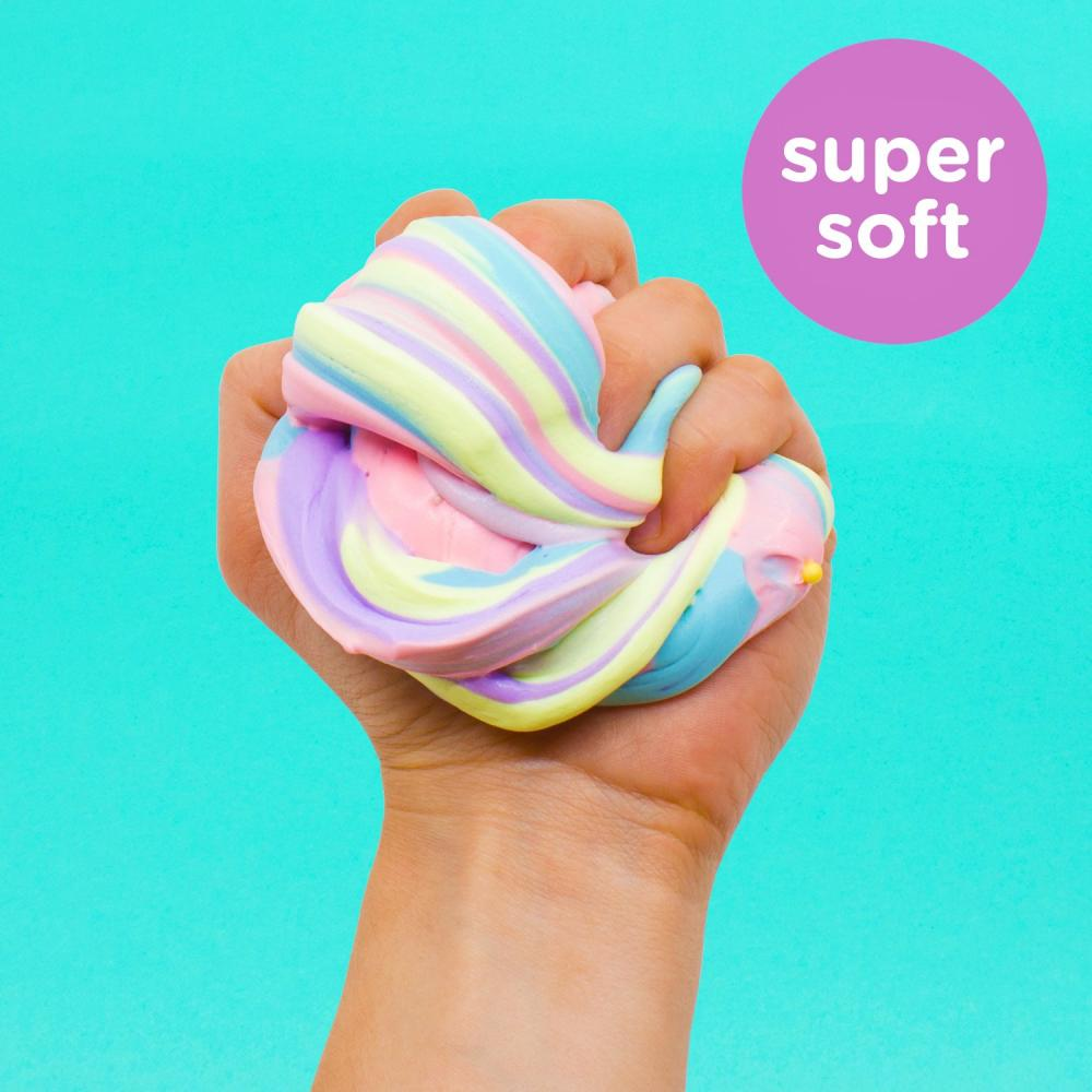 Unicorn Fluffy Slime With Rainbow Balls 2