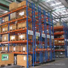 Sistema de almacenamiento de estantería móvil para la industria logística / Estante automático de servicio pesado con carril de guía
