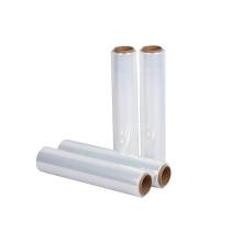 "18"" x 800 ft Transparent Pack LLDPE Plastic Film Roll Pallet Wrap Cast Stretch Film"