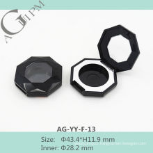Good-Looking One Grid Octagon Eye Shadow Case With Window AG-YY-F-13, AGPM Cosmetic Packaging, Custom colors/Logo