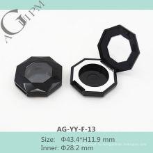 Красивый один сетки Octagon Eye Shadow дело с окна AG-YY-F-13, AGPM косметической упаковки, Эмблема цветов