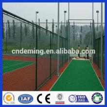 Galvanizado / PVC revestiu a cerca da ligação chain para a venda