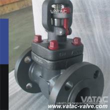 API 602 Válvula de compuerta de acero forjado con brida