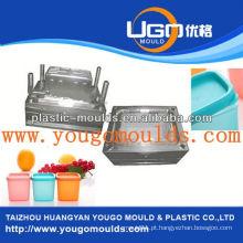 2013 Novo molde de recipiente de armazenamento de comida doméstica e bom preço do molde de caixa de ferramentas de injeção