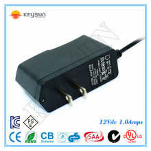 EU AC 2-poliger Stecker 12v 1a Gleichstromversorgung