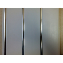 Artistic PVC Wall Panel With Triple Grooves (IR001)