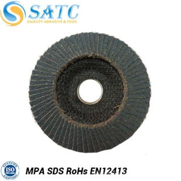 Китай производителей станок абразивно-отрезной лоскут диск с пластичной затыловкой волокна для полирования