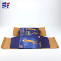 Corrugated paper carton craft packaging box