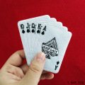 Playing Card Iron on Embroidery Patch Rose
