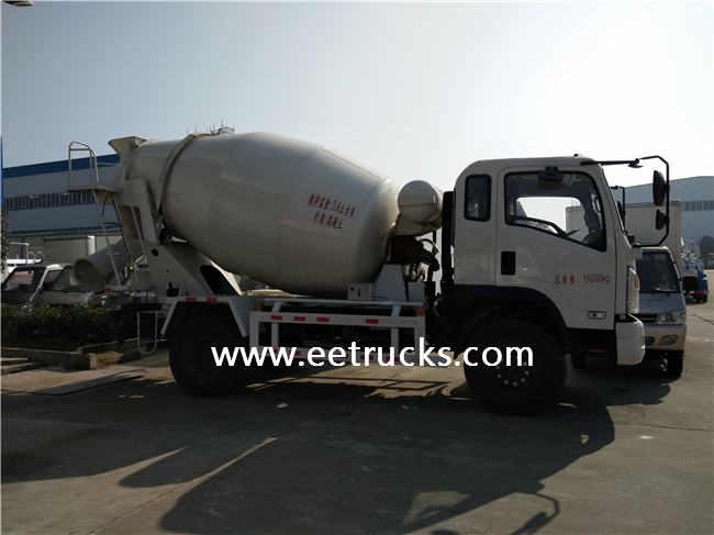 Self Loading Concrete Mixer Vehicles
