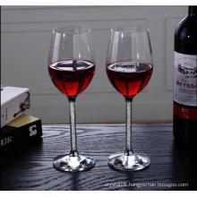 Wholesale Handmade Unique Crystal Wine Glass (KS25197)