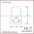 No Dark Area 13W 900mm LED T5 Tube Light LC7577A-09