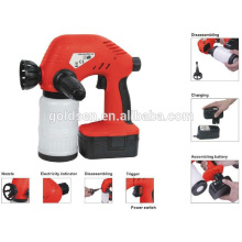 Wireless Ni-Cd Battery Powered Rechargeable Electric Portable Handheld Paint Painting Sprayer Cordless 18v Spray Gun