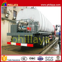 Heating Asphalt Bitument Tank Semi Trailer