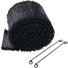 Galvanized PVC Coated and Black Annealed Double Loop Tie Wires