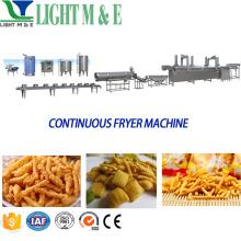 Automatic continuous belt frying machine