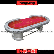 Silver LED Texas Casino Table (YM-TB016)
