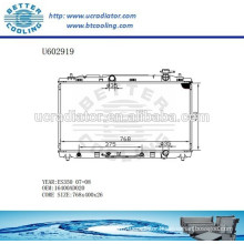 Aluminum Radiator For TOYOTA ES350 07-08 16400AD020 Manufacturer and Direct Sale