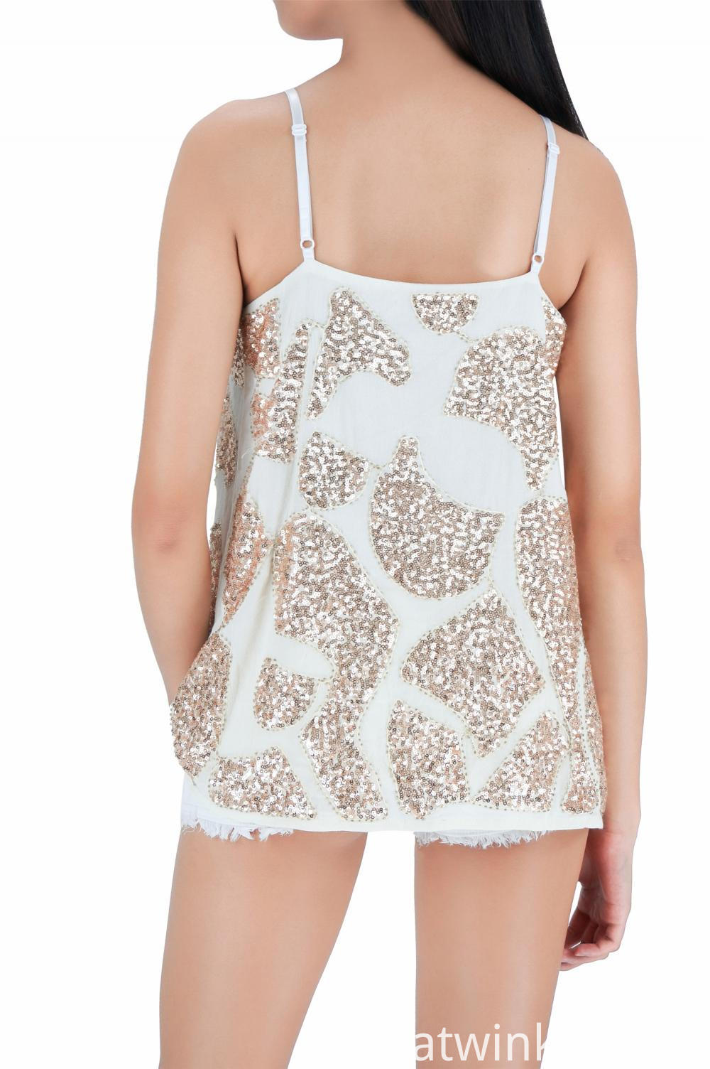 Sequin Fashion Tank Tops