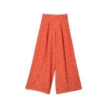 Женские повседневные широкие брюки с высокой талией, длинные брюки-палаццо, брюки
