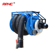 Automatic retractable exhaust extraction system hose reel
