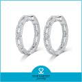 Más nuevo diseño de la moda redonda de oro aretes diseños para las niñas (e-0248)