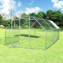 GIBBON Chicken Run galvanized door with lock, Walk-in Chicken Coops Hen Run House Shade Cage