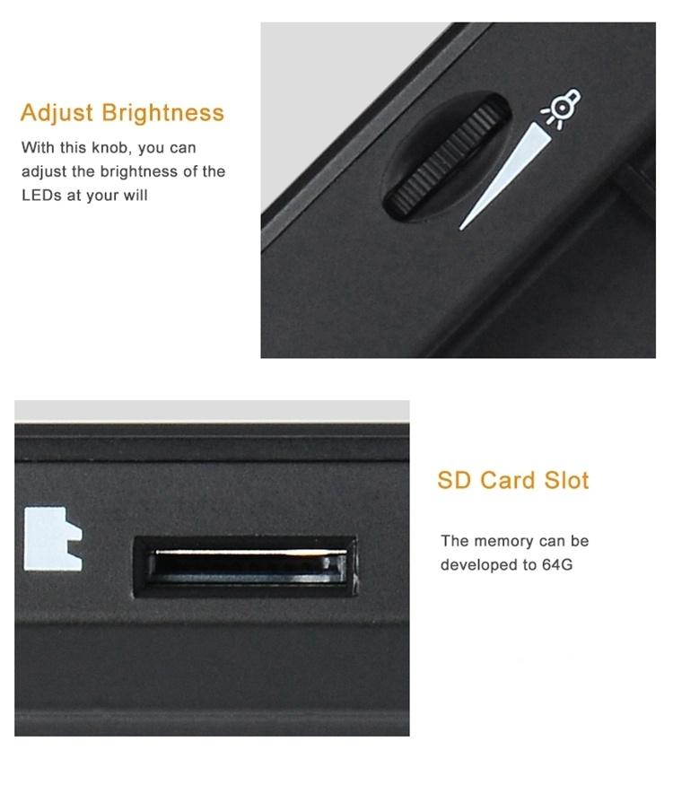 HD 720P 5MP Fixed Clip 4.3'' LCD Screen Digital Microscope for Circuit Board Industry Microscope