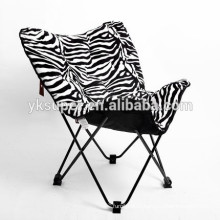 New design Leisure padded foldable butterfly chair
