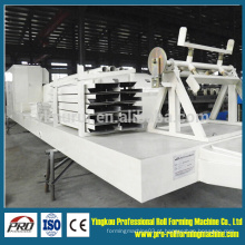 1000-700 Color Steel Metal Sheet Arch Roof Cold Roll formando a máquina