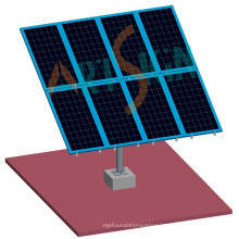 Solar Pole Mounting Systems PV Pole Power Station Solar Farm