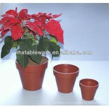 Естественные цветочные горшки из растительного волокна / бамбуковые цветочные горшки для цветов